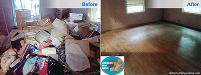 Clutter Cleaning Companies can help you downsize your clutter. (PRNewsFoto/SI Restoration) (PRNewsFoto/SI Restoration)