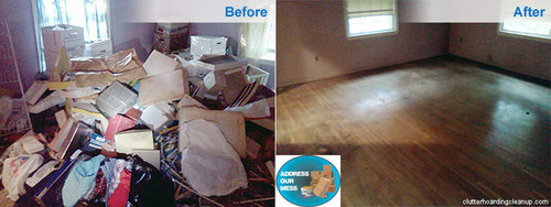 Clutter Cleaning Companies can help you downsize your clutter. (PRNewsFoto/SI Restoration)