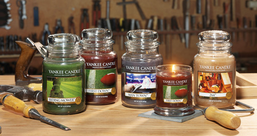 Yankee Candle Man Candles Collection.  (PRNewsFoto/The Yankee Candle Company, Inc.)