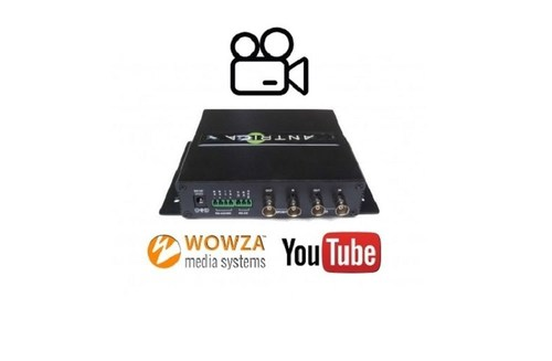 New RTMP Streaming Feature Released for the ANT-35000A Video Encoder: RTMP Forwarding to Youtube Server Allowing 'Live' Broadcasting in 1080P60 to Unlimited Multiple Viewers (PRNewsFoto/Antrica) (PRNewsFoto/Antrica)
