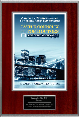 Dr. Eugene Fine, Urology, Is Named A Top Doctor: New York Metro Area.  (PRNewsFoto/American Registry)