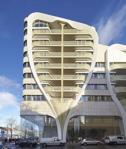 UNStudio / Ben van Berkel complete first project, Le Toison d'Or in Brussels, Belgium (Photo: ...