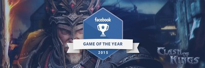 Facebook names Clash of Kings as its 2015 Game of the Year
