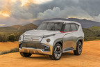 The Mitsubishi Motors Concept GC-PHEV debuted at the Chicago Auto Show
