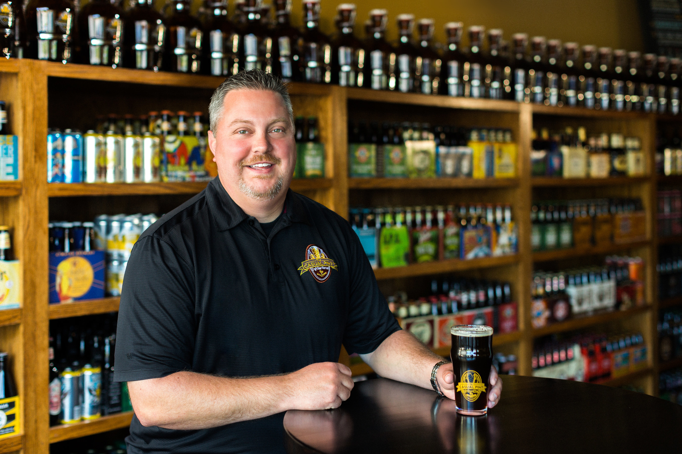 Nathan Robinette, president and CEO of The Casual Pint.