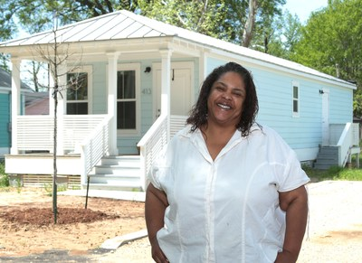 Brenda Gray, 54, of Greenwood's Baptist Town Cottages, was awarded a $4,000 Homebuyer Equity Leverage Partnership (HELP) grant that was used toward her down payment. HELP grants are offered by the Federal Home Loan Bank of Dallas (FHLB Dallas) through its members, including Planters Bank & Trust Company. The program provides grants to assist income-qualified, first-time homebuyers with down payments and closing costs on new or existing homes.