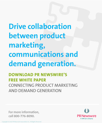 This pr newswire white paper connecting product marketing and demand