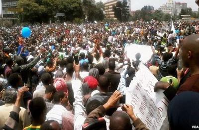 Ethiopia Protest.  (PRNewsFoto/Badr Ethiopia)