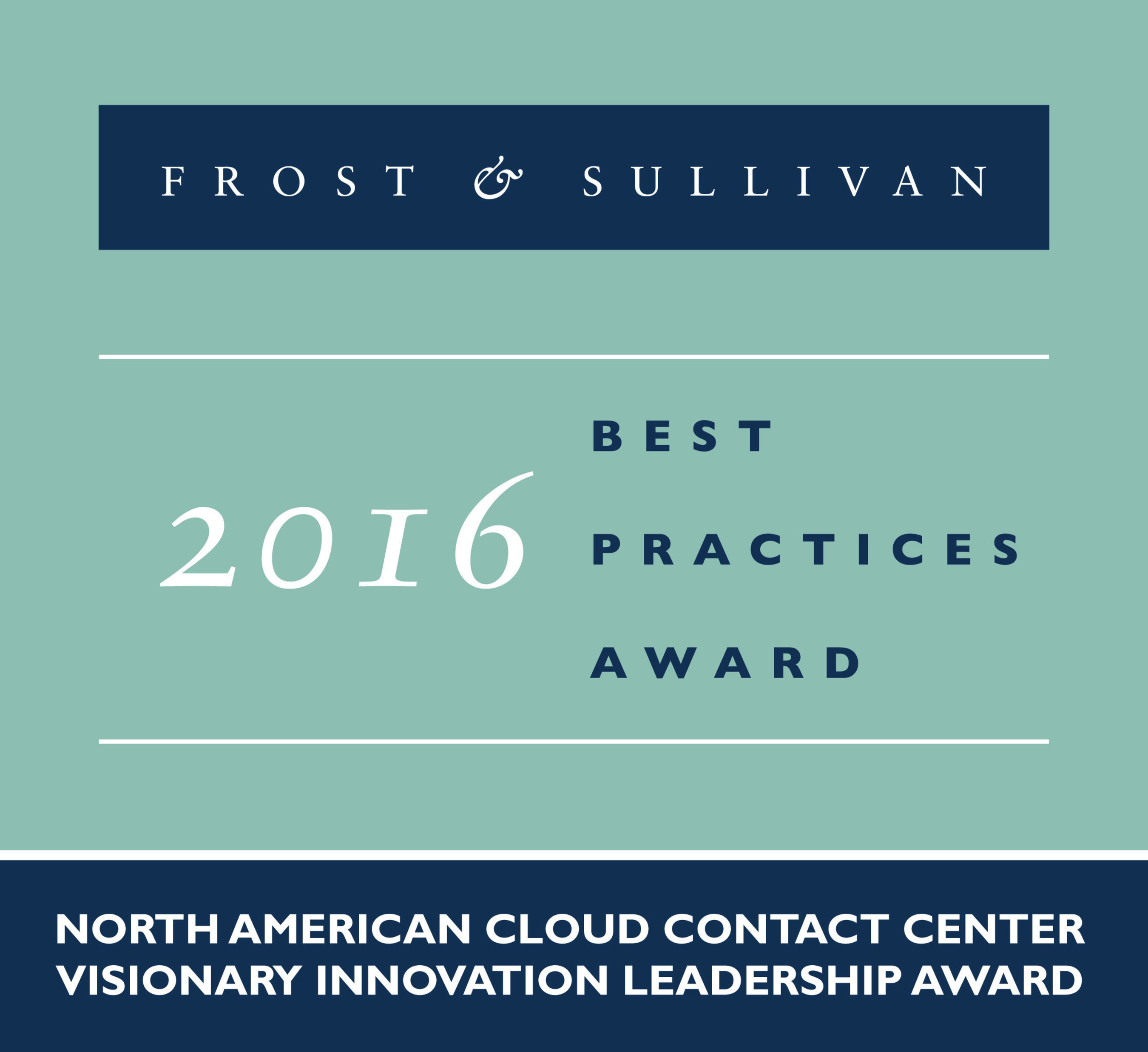 Frost & Sullivan Applauds Interactive Intelligence for Its Disruptive Cloud Contact Center Solution Set To Dominate the Market