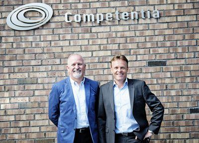 John og Trym Competentia (PRNewsFoto/Competentia)