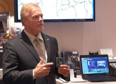 Panasonic Business Security Group VP Greg Peratt speaks about the Arbitrator Body Worn Camera at LEIM.