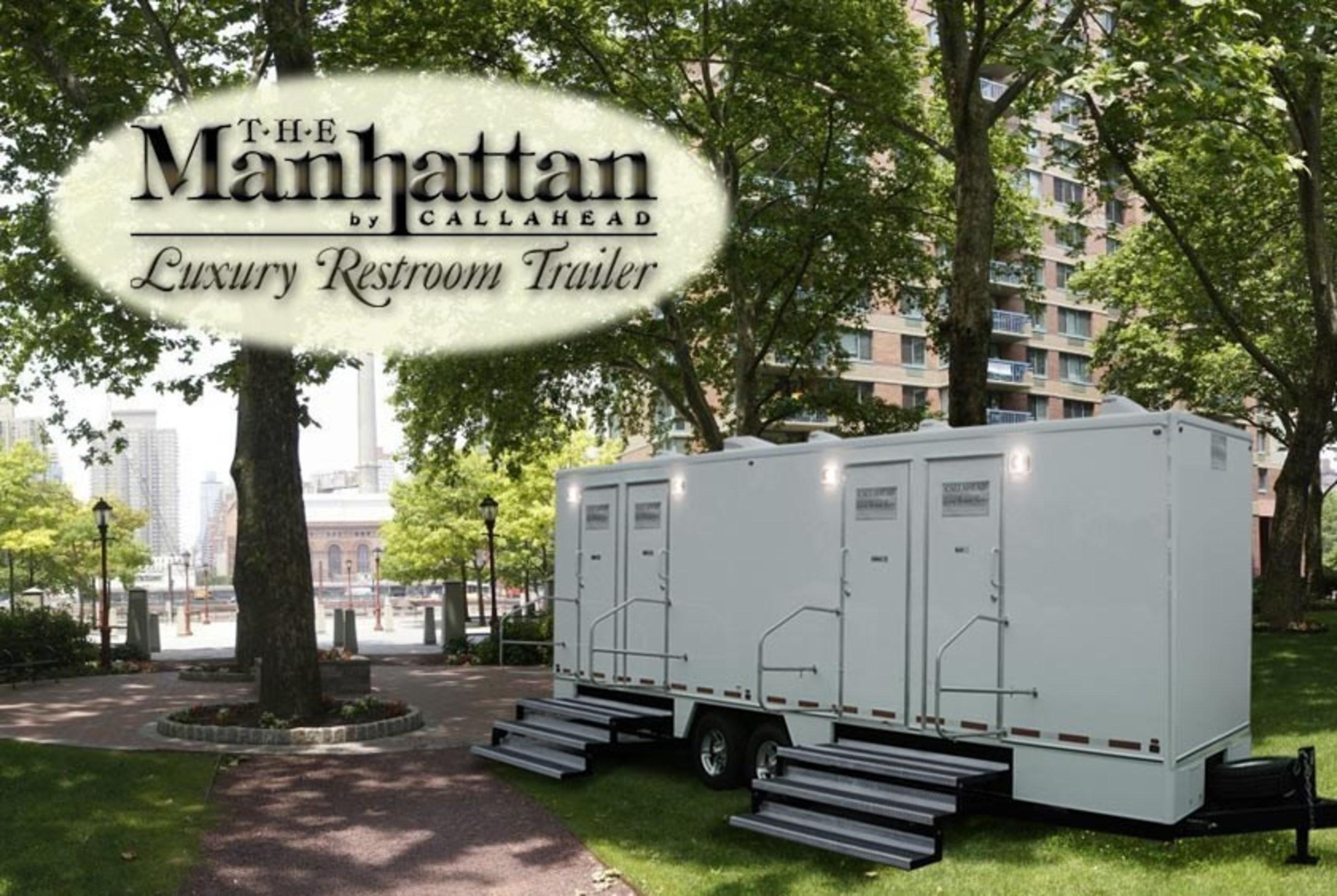 The Manhattan Luxury Restroom Trailer