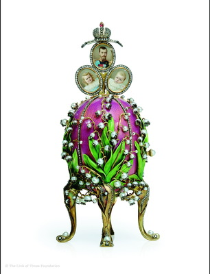 Romanov family Faberge egg from the museum (PRNewsFoto/Crystal Cruises)