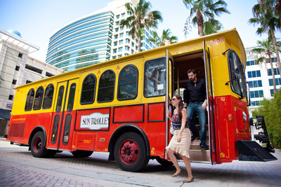 Sun Trolley Extends Service on Monday, July 4, 2016 for the City of Fort Lauderdale's 4th of July Spectacular presented by Zimmerman Advertising.