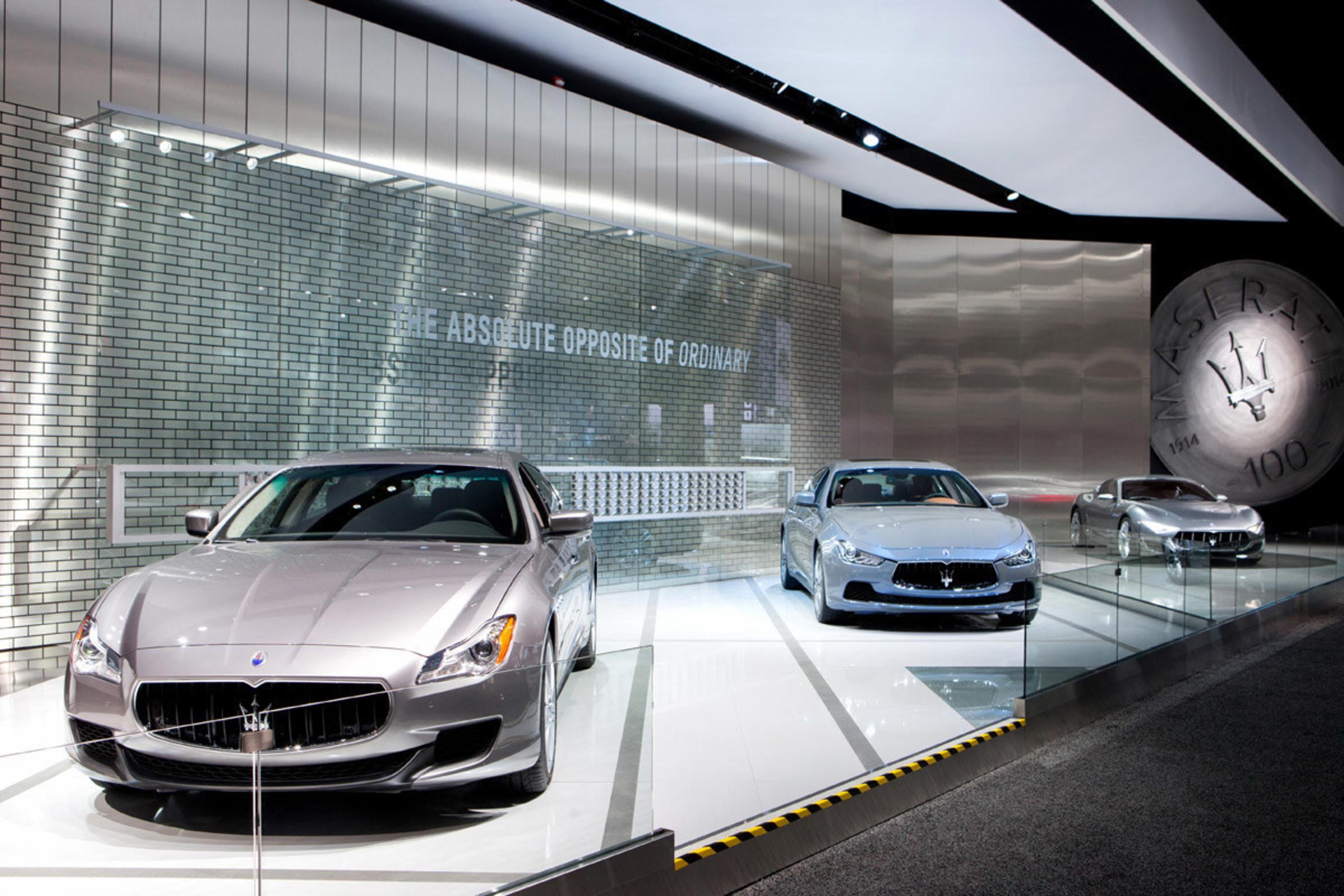 Following Its 2014 Record Breaking Sales Record, Maserati Kicks Off ...
