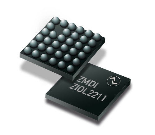 ZMDI announces the release of the ZIOL2211.  (PRNewsFoto/Zentrum Mikroelektronik Dresden AG)