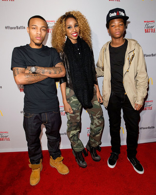 Hip-hop artist/actor/TV host Bow Wow, entertainment/celebrity blogger Necole Bitchie and hip-hop artist/reality TV star Astro were among celebrities who helped kick-off the McDonald's Flavor Battle, a national online DJ competition that showcases some of America's hottest up-and-coming mix-masters and beatsmiths. The competition began with 24 DJs and is now down to three finalists, DJ Arty J, DJ Element and DJ Jena Red, who will battle it out live in Miami in front of a panel of celebrity judges and crowd of music lovers for a cash grand prize and bragging rights.  (PRNewsFoto/McDonald's USA, LLC, Dario Cantatore)