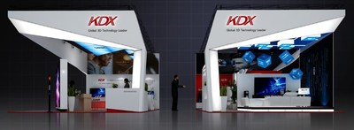 KDX will Exhibit a Wide Range of New Glasses-Free 3D Products at CES 2016