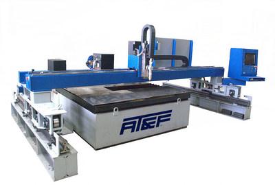 AT&F Wisconsin new burning machine