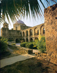 Mission San Jose, one of five San Antonio Missions designated a UNESCO World Heritage Site.
