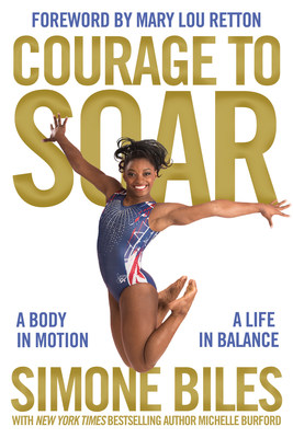 Courage to Soar, the official autobiography of Olympic Gold Medalist Simone Biles releases in November 2016 from Zondervan, part of HarperCollins Christian Publishing.