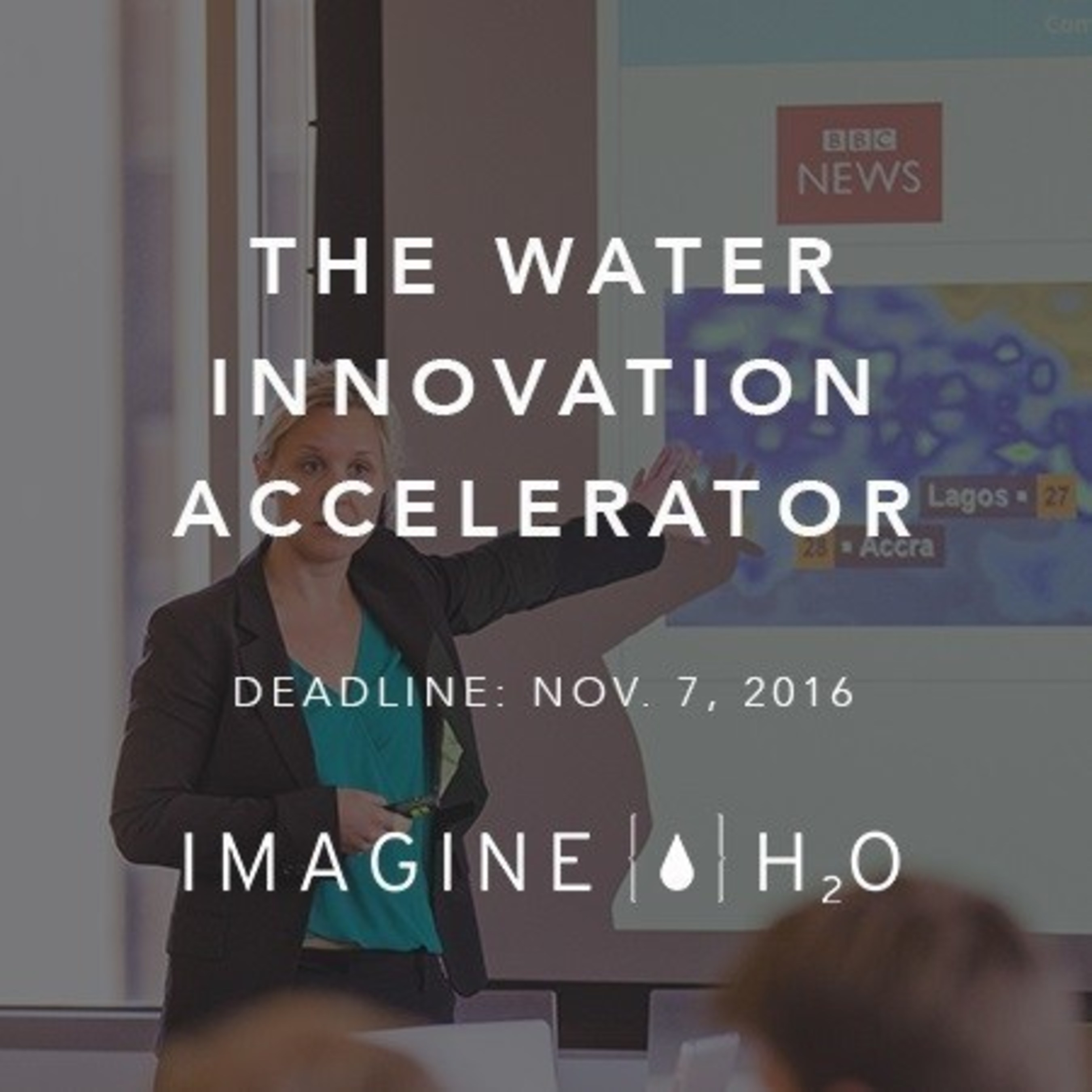 Apply today to the 2017 Imagine H2O Water Data Challenge