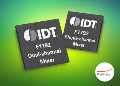 IDT Introduces New VersaMixer Family of Highly Flexible RF Mixers, Delivering Superior Features for Communications Systems.