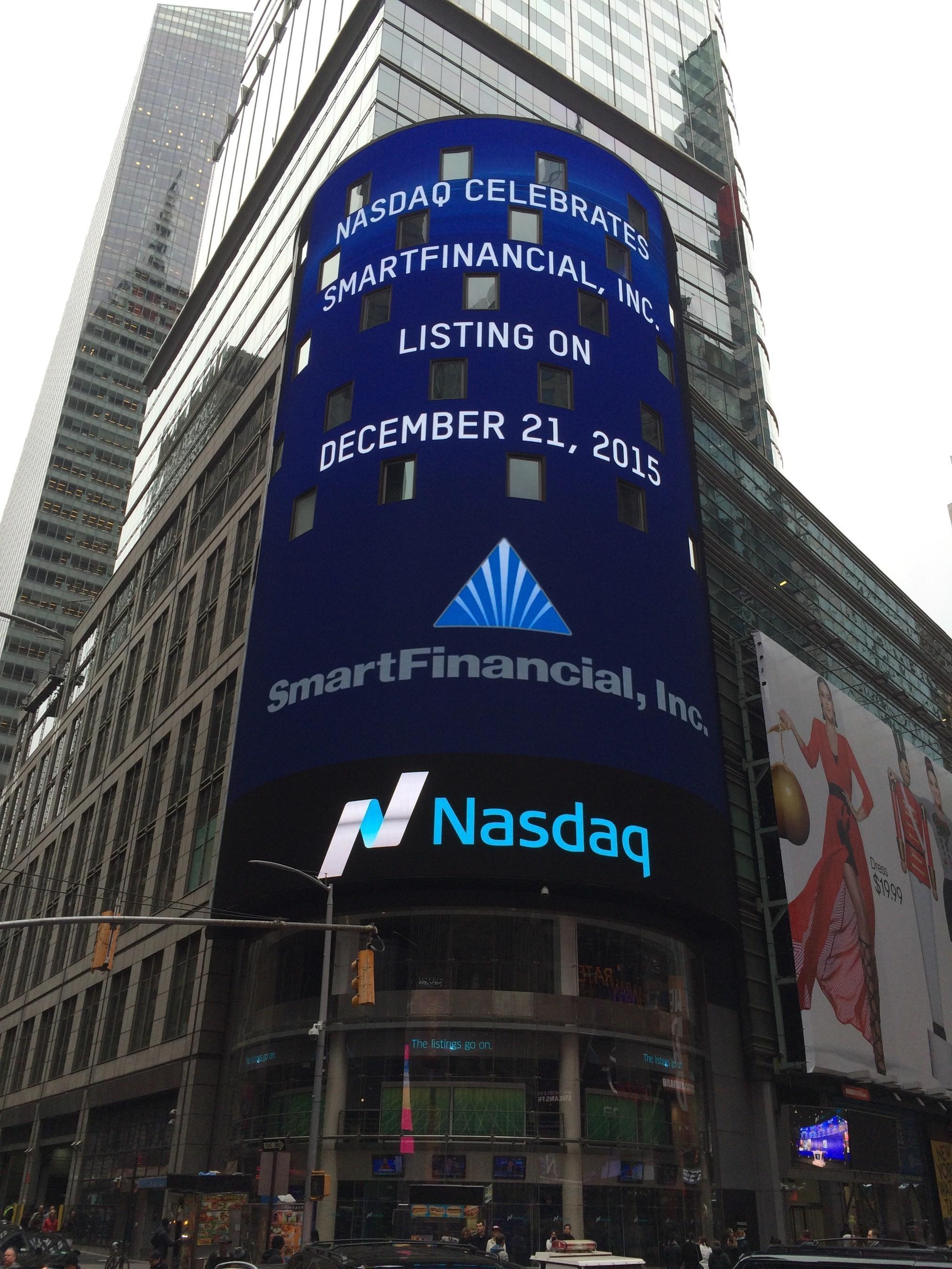 SmartFinancial, Inc. Joins Nasdaq Capital Market