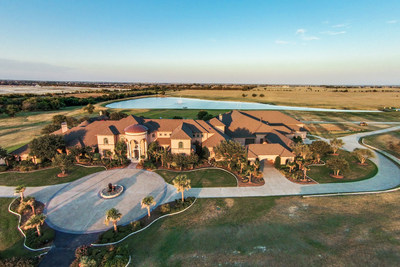 Expansive North Dallas estate is a haven for entertainment, featuring a football field, indoor basketball court, bowling alley, arcade and more (PRNewsFoto/Concierge Auctions)