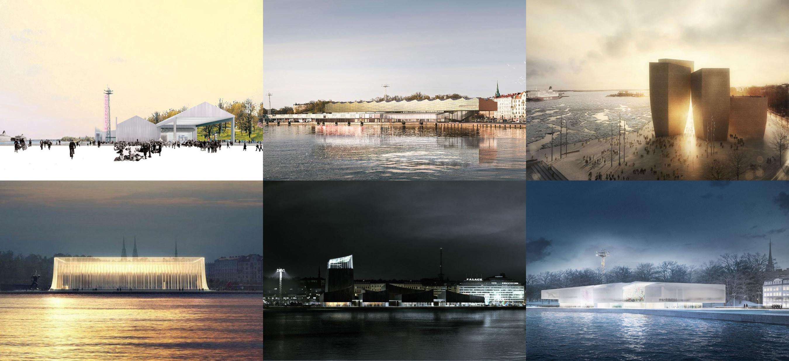 Entwürfe der Finalisten des Guggenheim Helsinki Design-Wettbewerbs erstmalig ab 25. April in