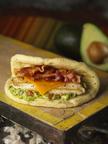 Fuddruckers Monterey Chicken Flatbread Sandwich. (PRNewsFoto/Fuddruckers)