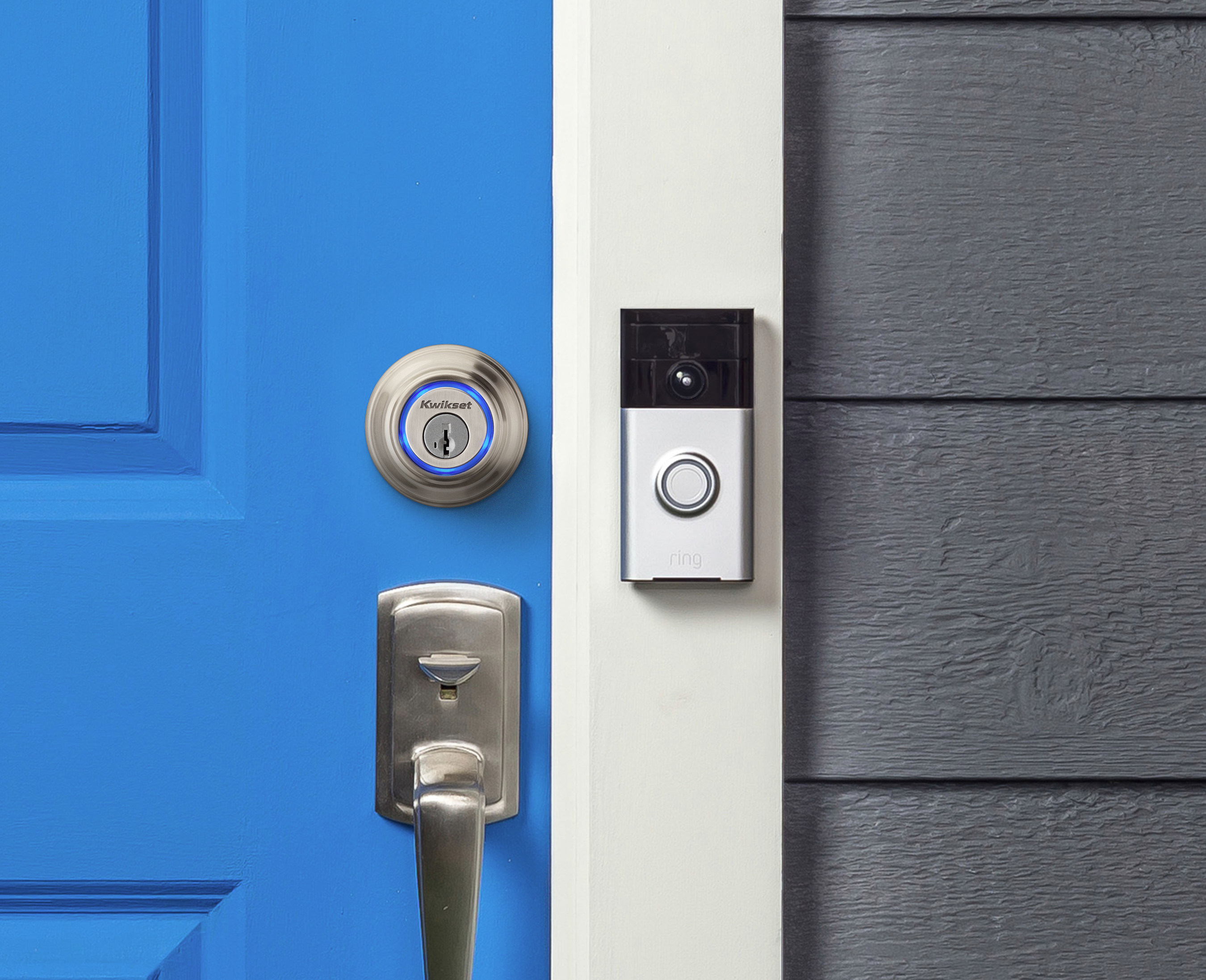 Ring Video Doorbell and Kwikset Kevo Smart Lock Now Work Together
