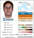 Parabon Snapshot composite of suspect in April Tinsley cold case based on DNA phenotyping.