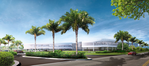 Hertz Announces Worldwide Headquarters Campus Design:  Building design reflects Hertz's global branding and  ...