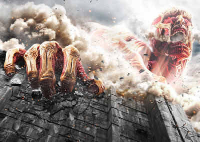 Attack on Titan Live Action Movie still
