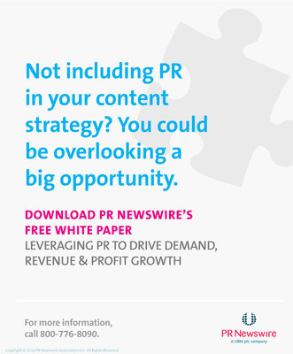PR Newswire's recent article, Leveraging PR to Drive Demand, Revenue & Profit Growth, discusses new opportunities to attract customers, drive demand for a company's products or services, and grow sales and profits--and also to tie PR efforts to actual revenue and pipeline results.