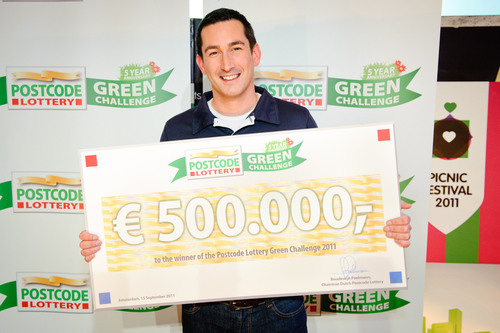 Sustainable Shower Wins $690,000 USD in Postcode Lottery Green Challenge (1)