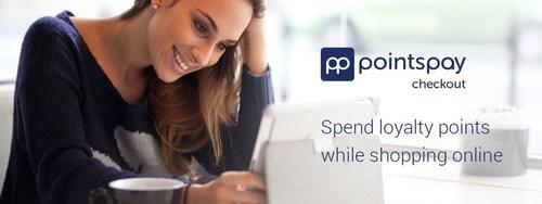 PointsPay Checkout (PRNewsFoto/Loylogic)