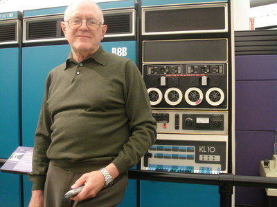 "Gordon Bell, known as ""the father of the minicomputer,"" has been named the recipient of the 2014 IEEE Computer Society Seymour Cray Computer Engineering Award for his work in designing computer systems that significantly changed high-performance computing. (PRNewsFoto/IEEE Computer Society)"