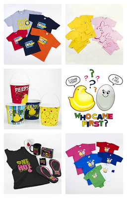 Shop The Newest PEEPS(R) Gifts This Easter at PEEPSANDCOMPANY.COM.  (PRNewsFoto/PEEPS & COMPANY)