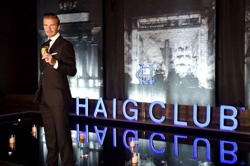 David Beckham at Haig Club Shanghai (PRNewsFoto/Diageo) (PRNewsFoto/Diageo)