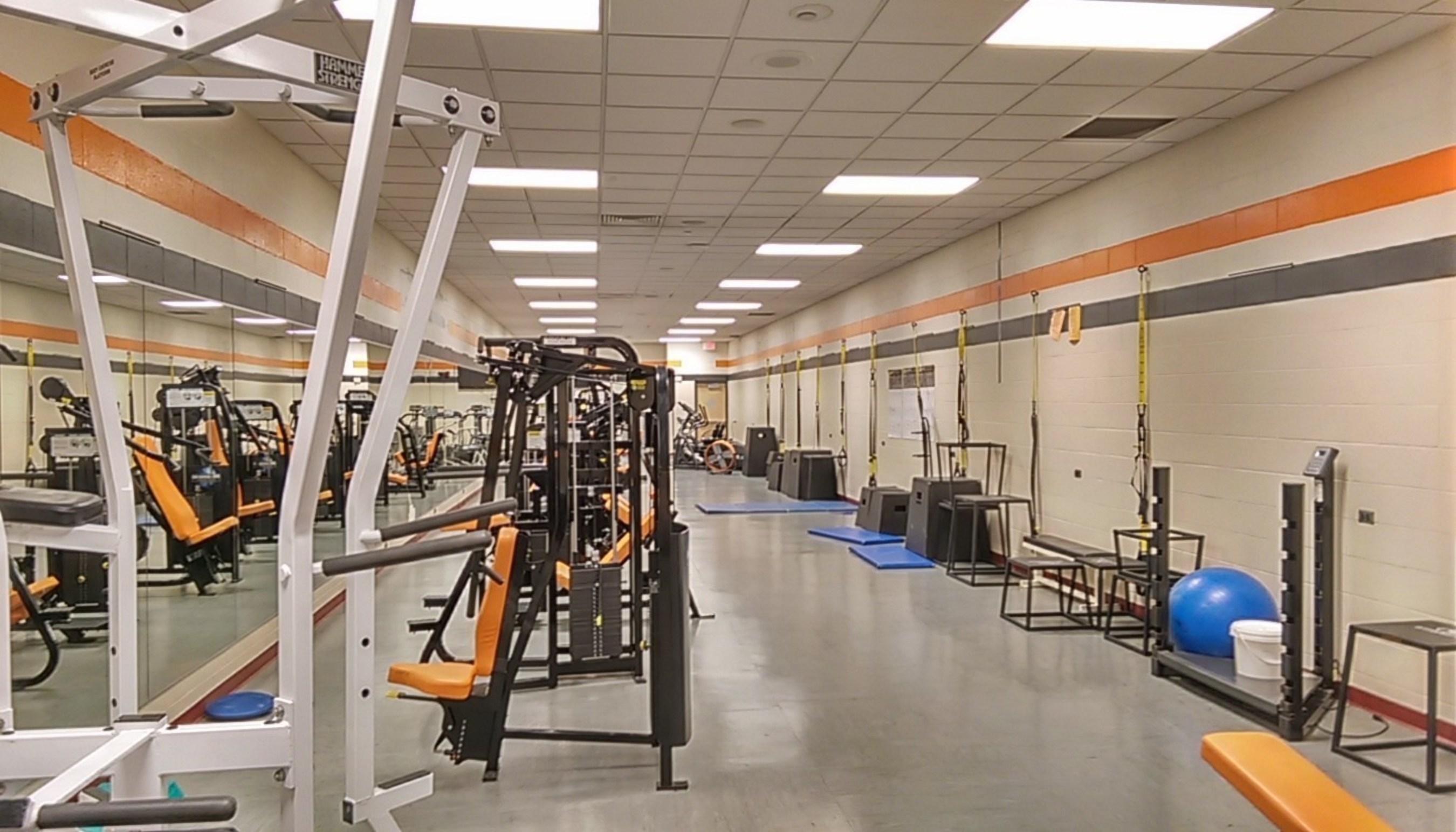 Byron Center High School Exercise Room