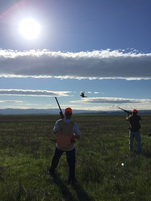 Wounded veterans come together for a pheasant hunt.