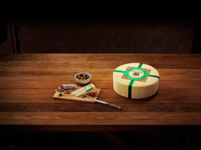 """Sartori Extra-Aged Asiago artisan cheese was recognized as the """"Best Asiago"""" in the Country at the US Championship Cheese Contest.  (PRNewsFoto/Sartori Cheese)"""