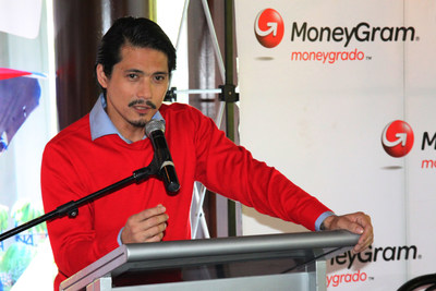 """Robin Padilla, renowned actor and celebrity: """"I am delighted to be a part of MoneyGram once more because I believe in what they stand for.'"""
