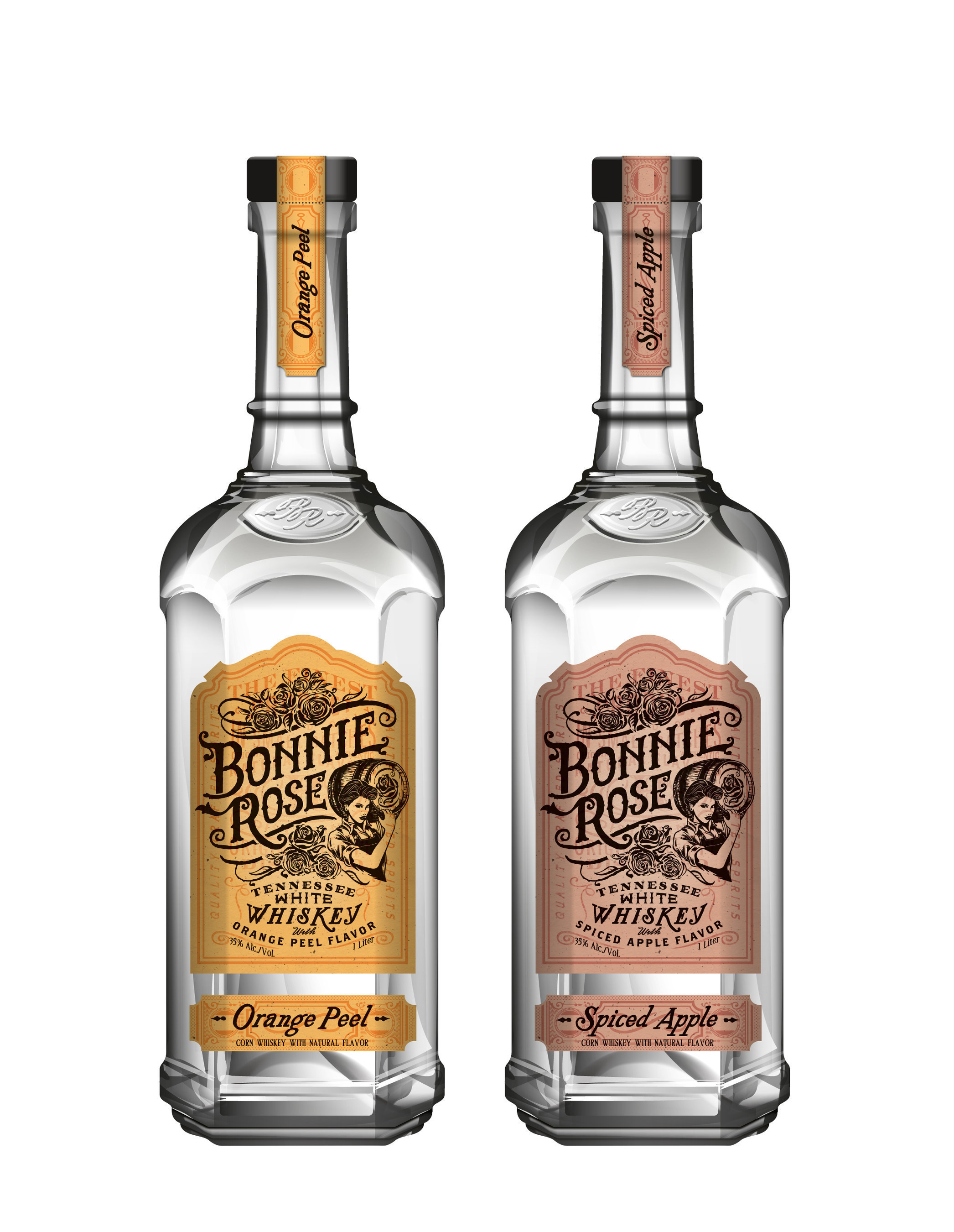 BONNIE ROSE, a new Tennessean white whiskey launches in Nashville July 13th.
