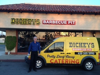 Owner/Operator Eric Lyon opens Dickey's Barbecue Pit in Duarte on Thursday!