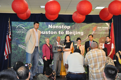 Air China Connects Houston and Beijing with New Nonstop Service.  (PRNewsFoto/Air China)