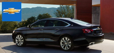 The 2014 Chevy Impala has been turning heads in San Antonio.  (PRNewsFoto/Cavender Chevrolet)
