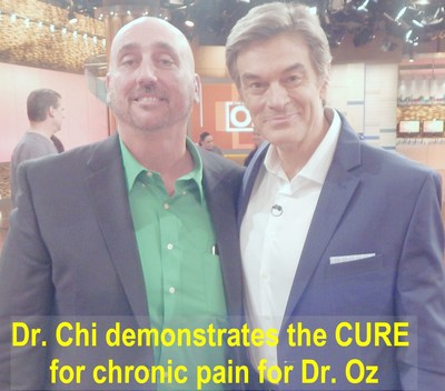The Pain Whisperer tells Dr. Oz how he gets these amazing results!